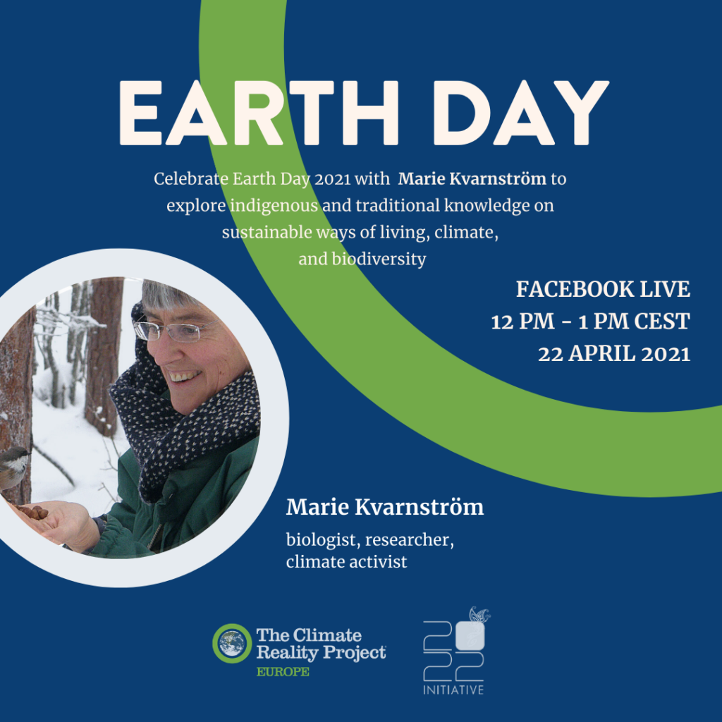 Earth Day 2021 Live Streamed Event